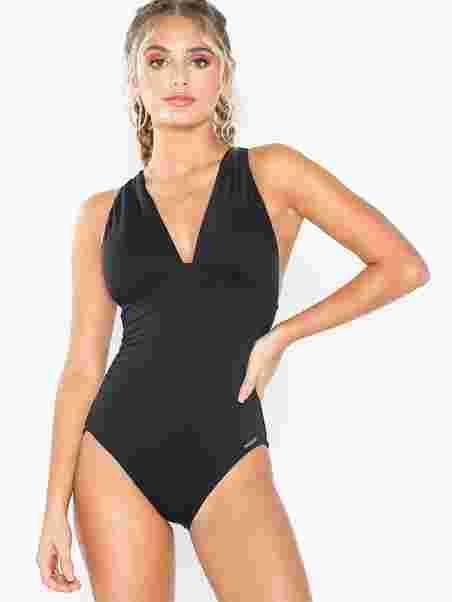 c9aaf55bdf104 High Neck Swimsuit - Michael Michael Kors - Black - Swimsuits ...