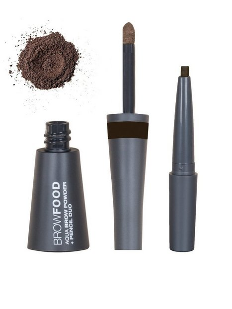Billede af LASHFOOD Aqua Brow Powder & Pencil Duo Øjenbryn Taupe