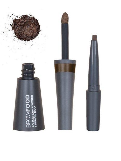 Billede af LASHFOOD Aqua Brow Powder & Pencil Duo Øjenbryn Dark Brunette