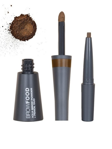 Billede af LASHFOOD Aqua Brow Powder & Pencil Duo Øjenbryn Brunette