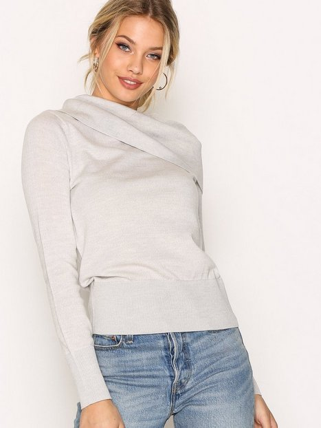Billede af Morris Bardot Knit Strikket trøje Grey