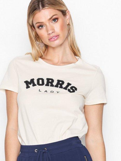 Billede af Morris Lady Logo Tee T-shirt Offwhite