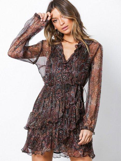 Billede af IRO Giala Dress Skater dresses Brown