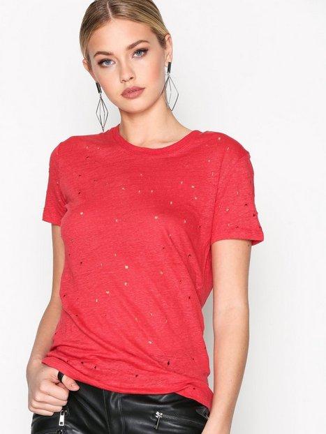 Billede af IRO Clay Top T-shirt Red