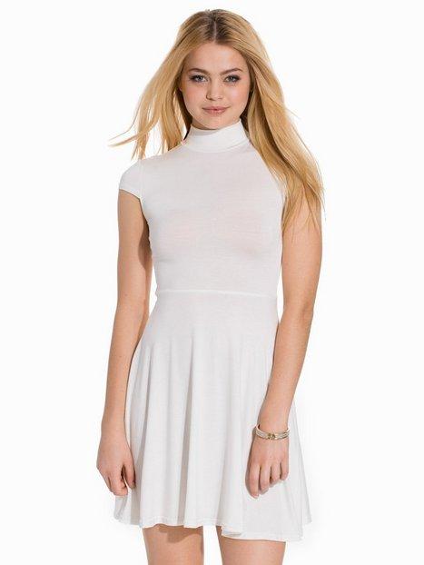 Billede af Club L Essentials High Neck Skater Dress Skater dresses Creme
