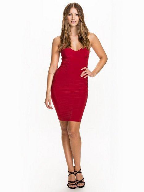 Cami Super Strap Slinky Dress