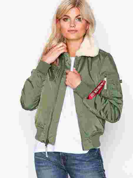 Tres rifle almacenamiento  Injector 3 Jacket - Alpha Industries - Green - Jackets - Clothing - Women -  Nelly.com
