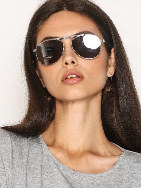 Billede af River Island Aviator Sunglasses Solbriller Sølv