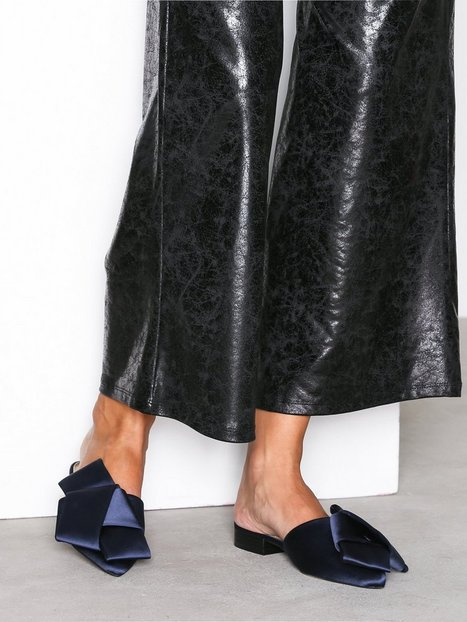... Shoes · Flats · River island; Bow backless loafer. Bow Backless Loafer