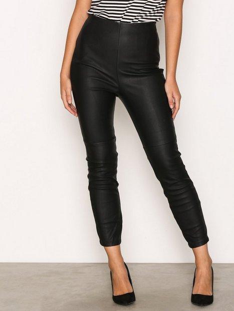 River Island Super Skinny Trousers Housut Black thumbnail