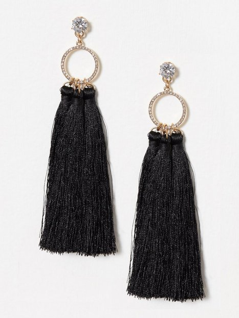 River Island Ring Triple Tassel Drops Örhängen Metal thumbnail