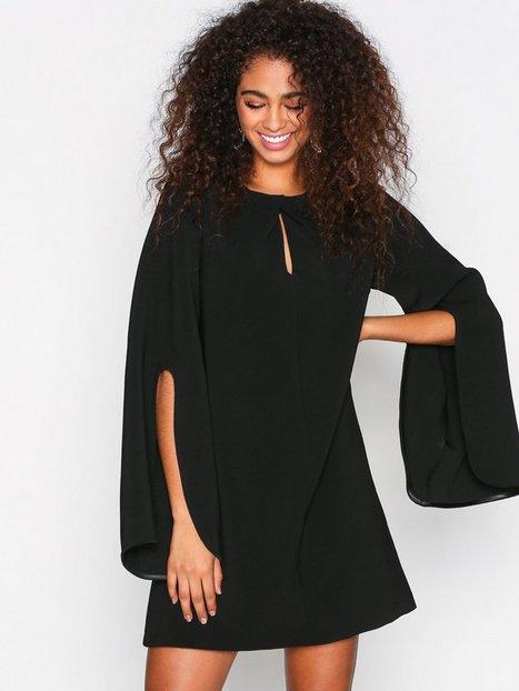 Billede af River Island Long Sleeve Swing Dress Langærmede kjoler Black