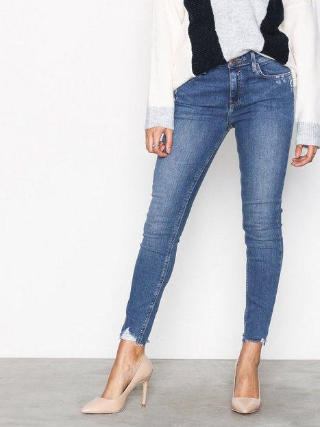 Billede af River Island Amelie Gibson Jeans Skinny Mid Blue