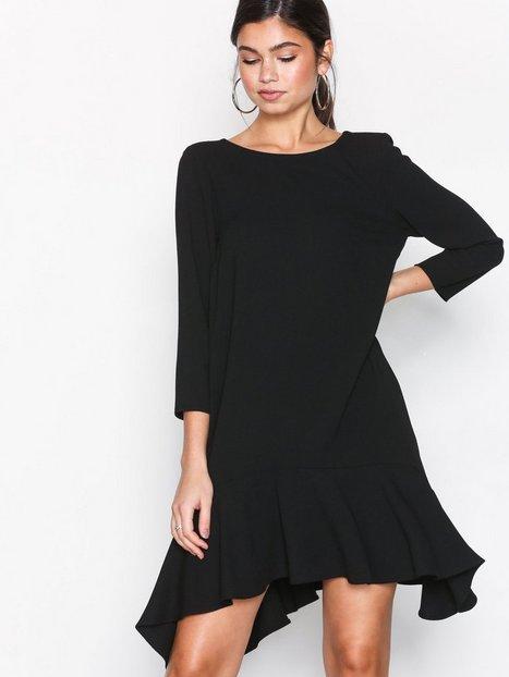 Billede af River Island 3/4 Sleeve Swing Dress Loose fit Black