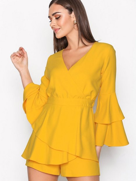 Billede af River Island Thalia Dress Playsuits Yellow