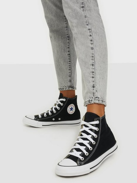 Billede af Converse All Star Canvas Hi High Top Sort