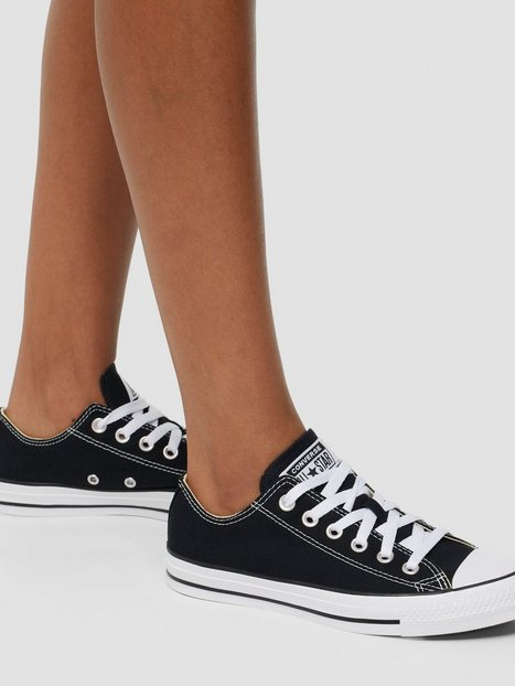 Billede af Converse All Star Canvas Ox Low Top Sort