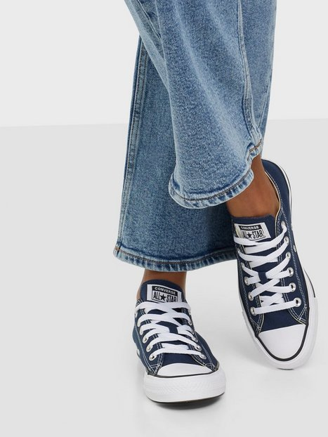 Billede af Converse All Star Canvas Ox Low Top Marine