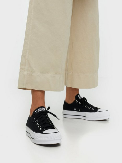 Billede af Converse Chuck Taylor All Star Lift Clean Low Top Sort