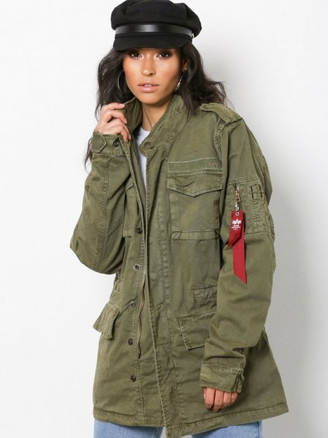Alpha Industries Huntington Parkatakit Olive thumbnail