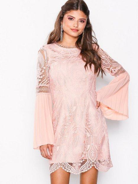 Billede af River Island LS Crawford Bodycon Dress Kropsnære kjoler Light Pink