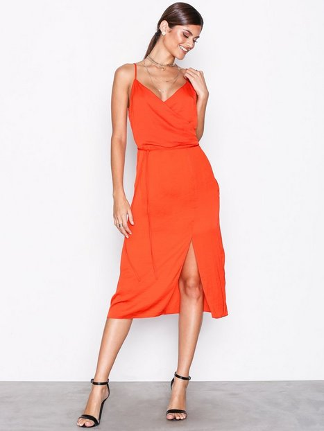 48f860779532 River Island Knot Front Slip Dress Loose fit