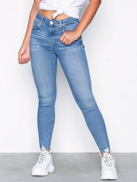 Billede af River Island Amelie Sunshine Jeans Skinny Mid Blue