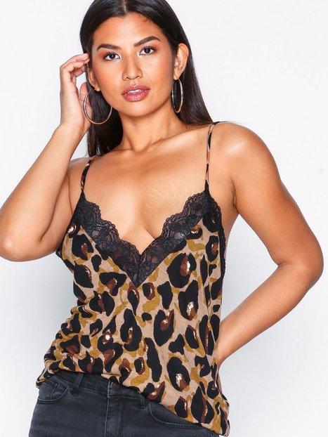 SL Leopard Lace Cami