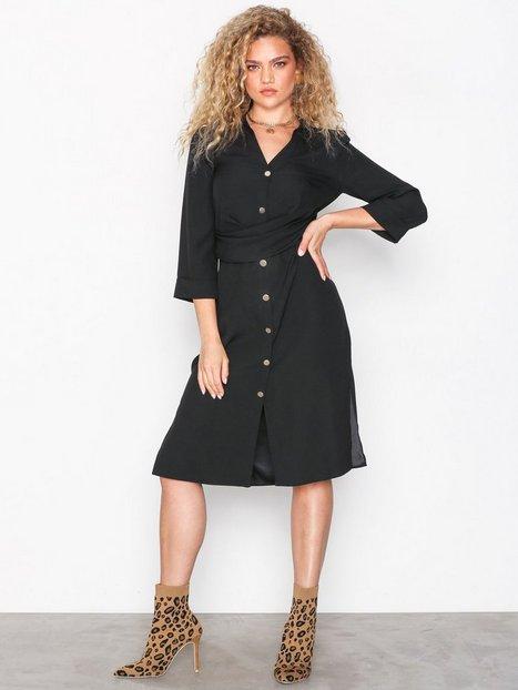 Billede af River Island Short Sleeve Dress Loose fit dresses Black