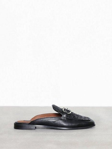Billede af River Island Weave Backless Shoe Loafers