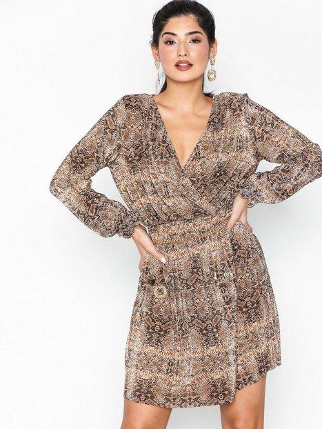 Billede af River Island Plisse Tea Dress Loose fit