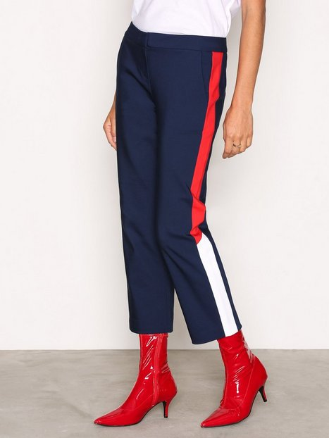 Hilfiger Denim THDW Tailored Crop Pant Byxor Blue thumbnail