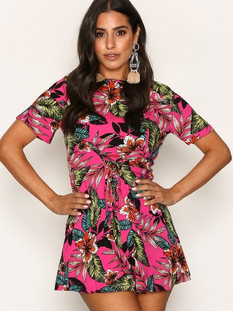 Billede af New Look Culotte Jumpsuit Playsuits Pink
