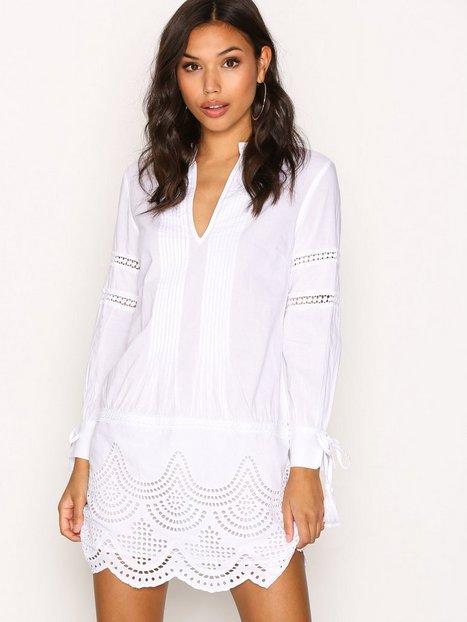 Billede af New Look V Neck Cotton Tunic Tunika White