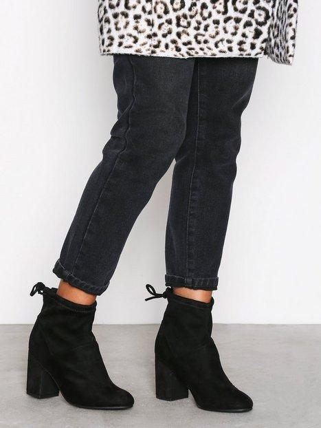 Billede af New Look Ava Sdt Heel Sock Boot Heel Black