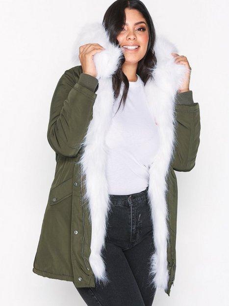Faux Fur Lined Parka