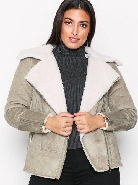 Billede af New Look Faux Shearling Jacket Faux Fur Mink