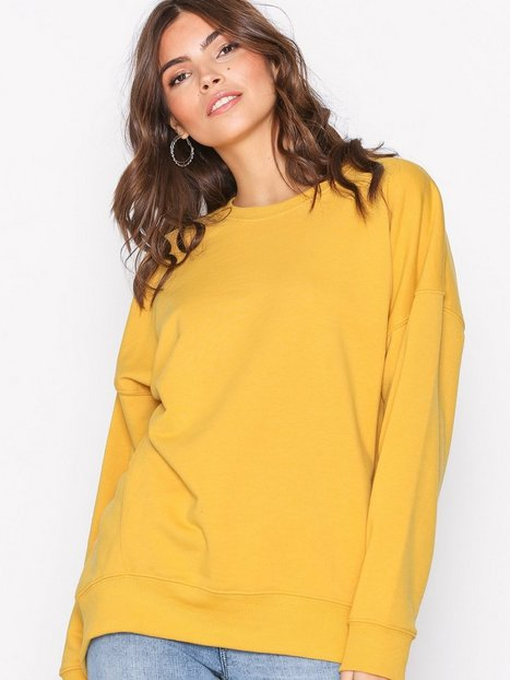 Billede af New Look Balloon Sleeve Oversized Sweatshirt Sweatshirts Lemon