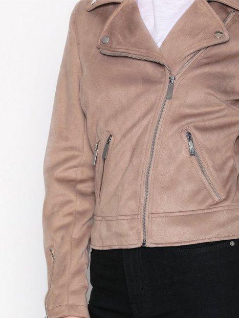 Suedette Biker Jacket