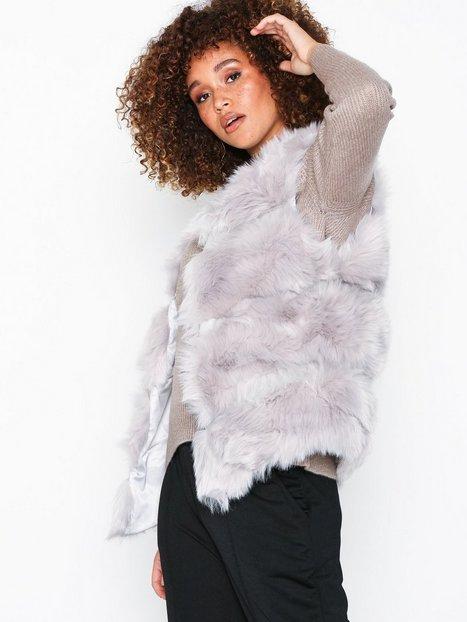 Billede af New Look Pelted Faux Fur Gilet Veste