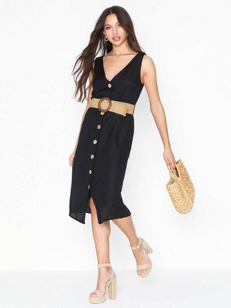 Billede af River Island Linen Waisted Dress Loose fit
