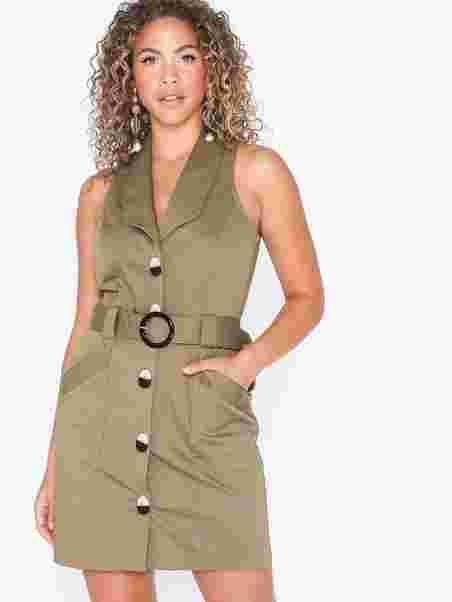 343986215 Bordeaux Safari Dress, River Island