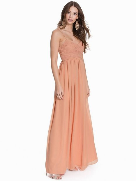 Wrap Bust Long Dress