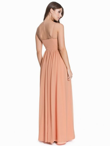 Wrap Bust Long Dress