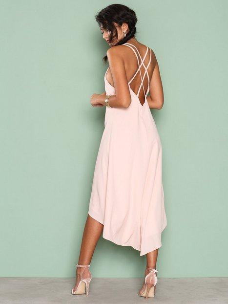 Billede af NLY One Midi Strap Dress Loose fit Lys Rosa