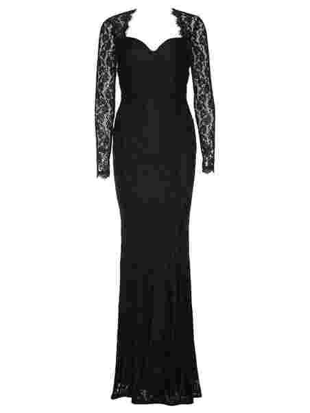 Mermaid Ls Gown - Nly Eve - Musta - Juhlamekot - Vaatteet - Nainen ... 747dd2613d