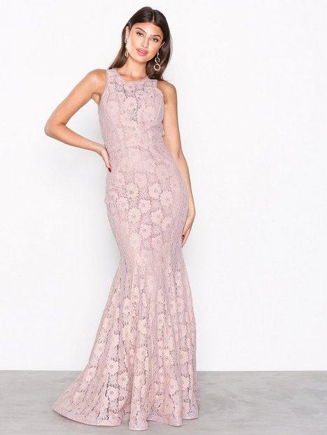 NLY Eve Lace Mermaid Gown Maksimekot Vaalea pinkki thumbnail