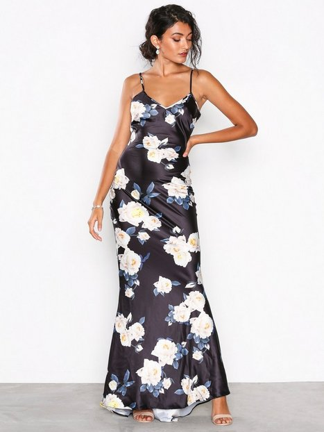 NLY Eve Floral Tail Gown Maksimekot Kuviollinen thumbnail