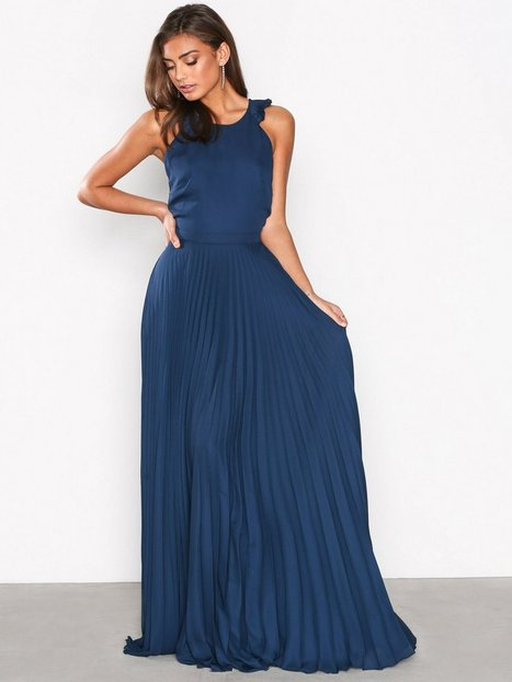 Pleated Frill Gown