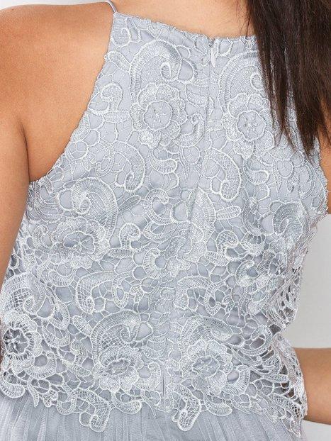Crochet Tulle Gown